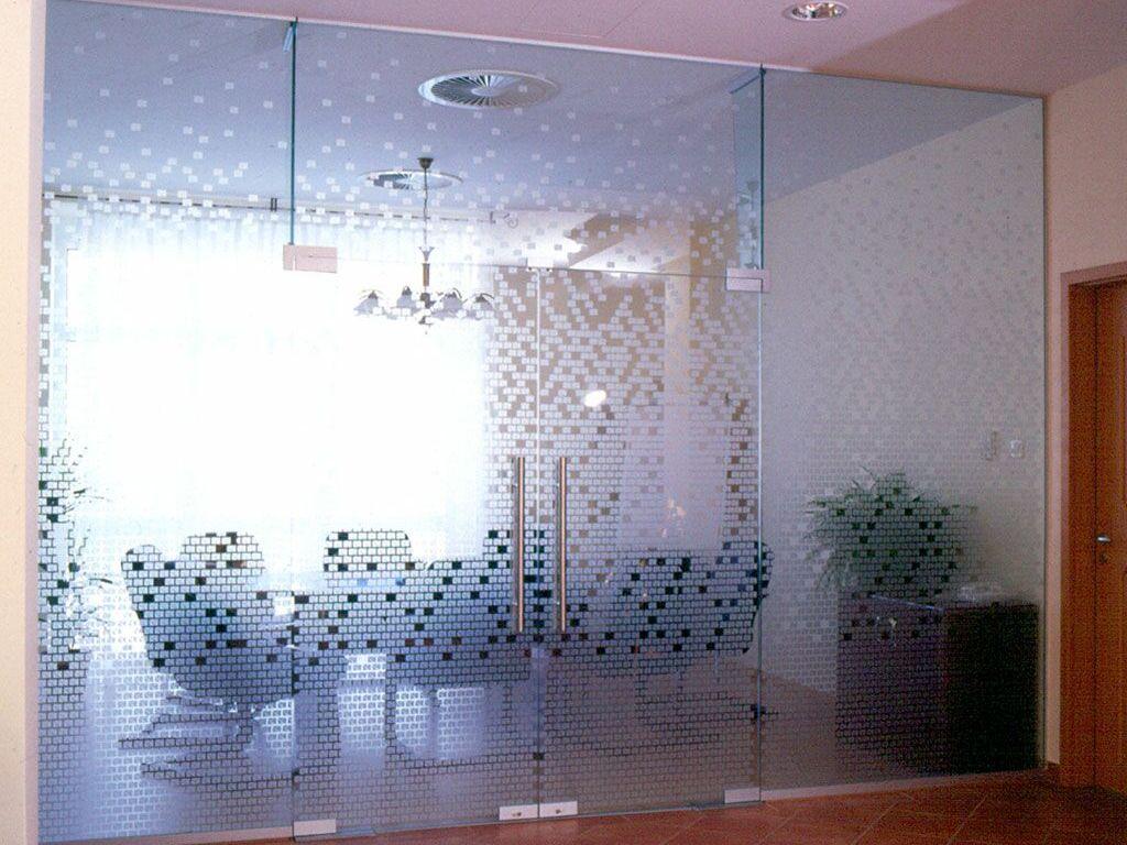 Dekor mintázott üvegajtók