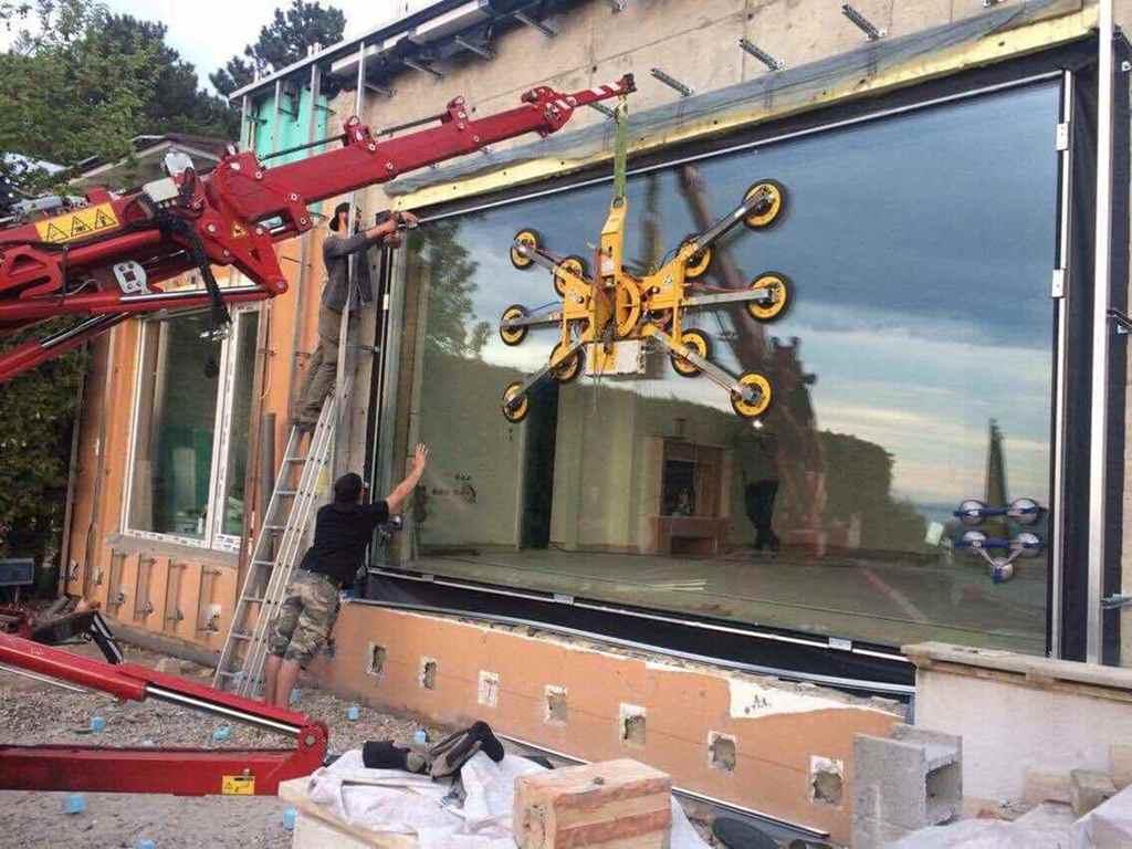 Üvegfal beépítés