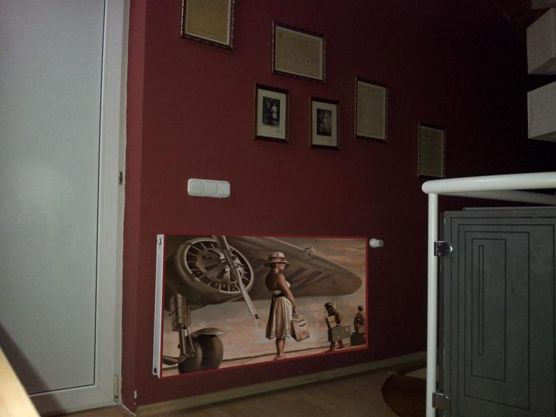 Üvegborítású radiátor VII.