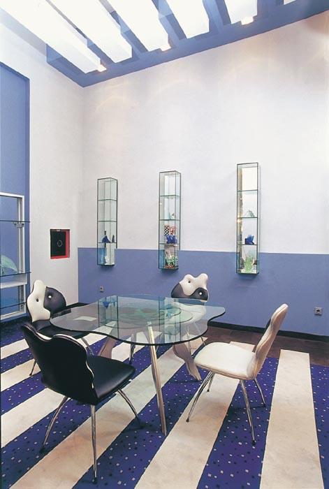 Üvegasztal iroda berendezéshez