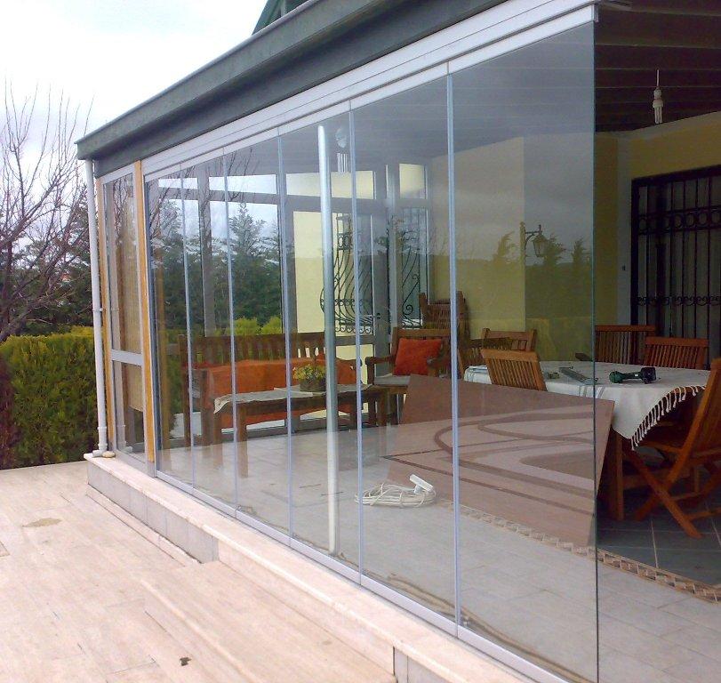 olcsó Összecsukható üvegfal