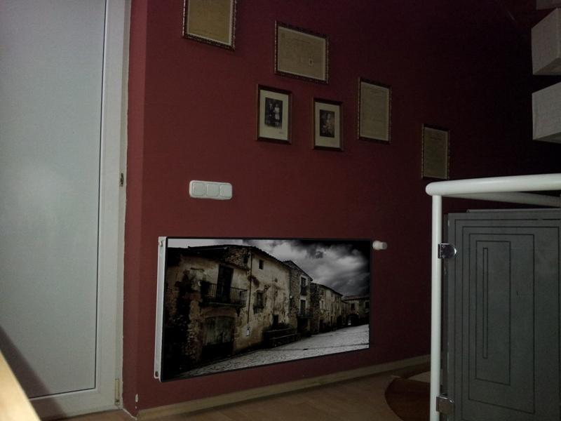 Üvegborítású radiátor V.